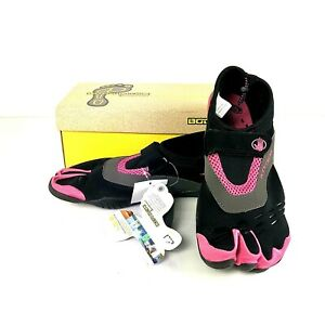 Body Glove Womens Size 10 Black Pink 3T Barefoot Water Shoes New with Box