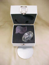 Swarovski Retired Rose Flacon (Perfume Bottle Pink Color) With Box And COA