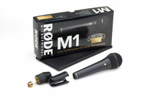 Rode M1 - Large Diaphragm Live Dynamic Cardiod Vocal Microphone