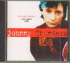 Johnny Thunders(CD Album)Live & Wasted - Unplugged-Receiver-RRCD 297-UK-New