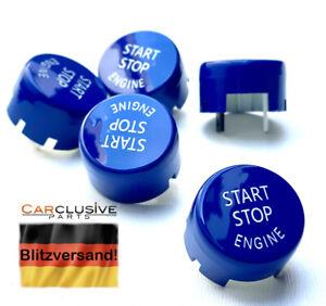 Start Stop Knopf Startknopf Button Blau für BMW F20 F30 F31 F32 F33 F82 F10 F11