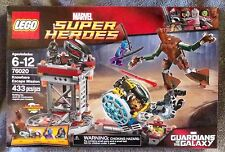 LEGO  MARVEL SUPER HEROES GUARDIANS OF THE GALAXY KNOWHERE ESCAPE MISSION #76020