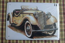 Old Car Z4 Retro Metal Sign Painted Poster Garage Home Pub Superhero Wall Art *