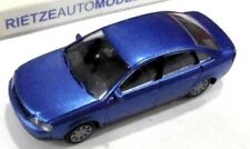 car 1/87 RIETZE 20900 AUDI A6 (C5) 1997 MET LIGHT BLUE NEW BOX