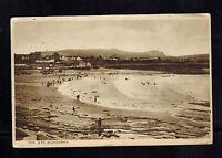 1933 Bundoran Ireland RPPC postcard Cover to Dublin Bay and Beach View