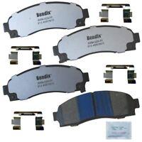 Bendix Fleet Metlok MKD1169AFM Front Brake Pad Set For Select GMC Acadia Models