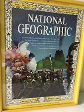 Vintage 1975 Muppet National Geographic Picture Wall Decor Piggy Kermit