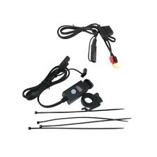Presa USB Caricatore Cellulare Voltmetro Manubrio Impermeabile Per Moto Bici