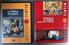 """DVD + livret. Tintin : """"Le temple du soleil (Long métrage)""""  (GW)"""