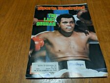 Muhammad Ali Sports Illustrated October 13, 1980 - The Last Hurrah Boxing