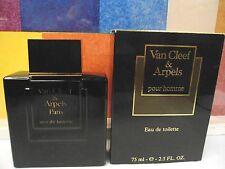 VINTAGE VAN CLEEF & ARPELS POUR HOMME SPLASH EAU DE TOILETTE 2.5 OZ / 75 ML NIB