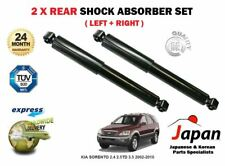 FOR KIA SORENTO 2.4 2.5TD 3.5 2002-2010 NEW 2 x REAR SHOCK SHOCKER ABSORBER SET