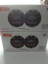 New listing 2 pairs -Boss speakers -Ch6530 300Watts Chaos Exxtreme Series