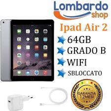 Apple IPAD Air 2 64 GB Wifi Grade B Black Refurbished Regenerated Used