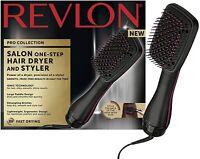 REVLON Pro Collection Salon Hair Dryer Styler Paddle Detangler Hot Air Brush