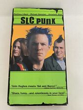 SLC Punk VHS 1999 Matthew Lillard Annabeth Gish Devon Sawa Sundance PUNK ROCK