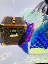 Auth Louis Vuitton Hard sided monogram trunk Boîte Flacon Case M21828 £4700