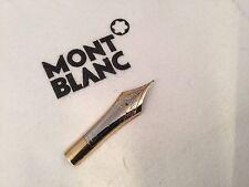 Montblanc 149 1960s Meisterstuck Diplomat Fountain Pen Nib 14C Two Tone Fine