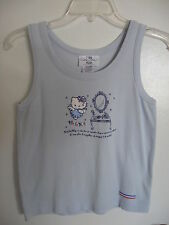 Sanrio Hello Kitty Tank Top French Adult M 1976, 2002 Vintage Pre-Owned