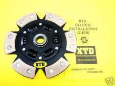 """XTD 6 Puck Paddle Disque d'embrayage 1983-1992 RX-7 Non Turbo """"Livraison gratuite"""""""