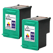 2PKs HP 95 Color Ink Cartridges C8766WN For Photosmart 325 335v 335xi 370 375