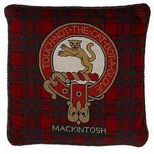 Mackintosh Cushion Cover Scottish Clan Needlepoint Pillow Tapestry  Tartan