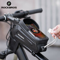 ROCKBROS Bike Phone Bag Case Cycling Tube Waterproof Touch Screen Saddle Package