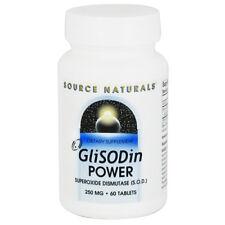 Source Naturals GliSODin Power Superoxide Dismutase SOD 250 mg 60 Tabs