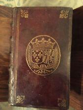 Livres anciens et de collection en reliure d'art, sur un ancien régime (xvie-xviiie)