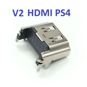 Connector HDMI Socket 19 Pin for PLAYSTATION 4 PS4 Port V2 Jack IN Solder