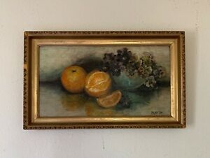 Phyllis Lin (林徽因 1904-1955) China Artist Oil Painting Signed