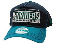 Seattle Mariners New Era 9Forty MLB Baseball Trucker Meshback Cap Hat