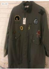 Daya by Zendaya Patched Military Anorak Jacket