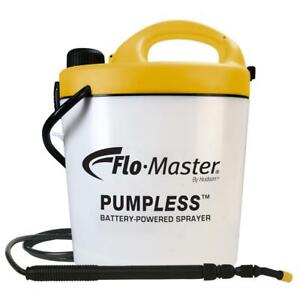 RL Flo-Master Sprayer Rechargeable Lithium-Ion Battery Telescoping Wand 1.3 Gal