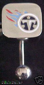 TENNESSEE TITANS LOGO NAVEL BELLY RING