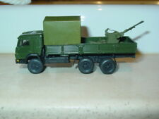 1/87 HO scale Russian KAMAZ-53212 Truck with ZU-23-2 Twin Anti-Aircraft Gun