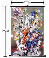 Anime Jojo JoJo's Bizarre Adventure Jotaro Wall Poster Scroll Home Decor 596