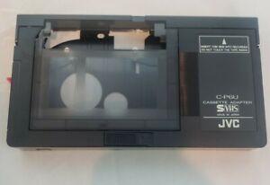 JVC C-P6U Motorized VHS-C to VHS Cassette Adapter Converter