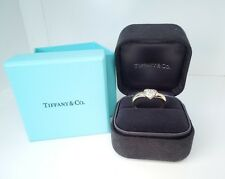 Tiffany 6 Stone Diamond .32 ct 18k YG Heart Ring  *GAL Appraisal* Tiffany Boxes
