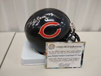Kyle Long Chicago Bears Autographed Mini Helmet Schwartz COA