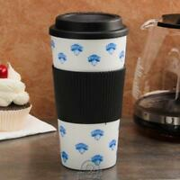 NBA New York NY Knicks 16 Ounce Tumbler Travel Cup Hot/Cold Coffee Mug Banded