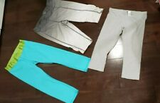 Jennifer Lopez Lauren Conrad Jockey Lot Of 3 Cropped Athletic Wear Sz S/M