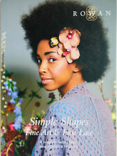 ROWAN Magazin - Simple Shapes - Fine Art & Fine Lace - Strickanleitung - ZB182 -