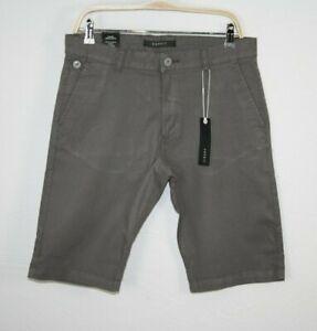 ESPRIT Collection Herren Chino Shorts Slim Fit grau NEU
