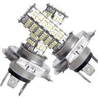 2 X H4 120 SMD LED luz bombilla blanca 12V para Coche