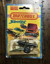 1977 Matchbox Superfast by Lesney No. 32 Field Gun New in Blister Pack