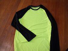 Athletic Works Boys' Performance Long-Sleeve Baseball Shirt Youth  XL 14 - 16