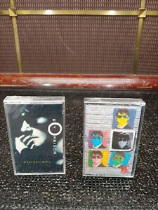 2 New Roy Orbison Cassettes Mystery Girl Virgin Music & The Roy Orbison Tribute
