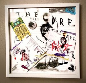 The Cure THE CURE SIGNED PROMO DISPLAY by ROBERT 2016 cd FRAMED w./PASS & COA