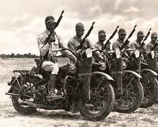 vintage Harley Davidson WW2 WWII motorcycle 8X10 photo picture poster RP